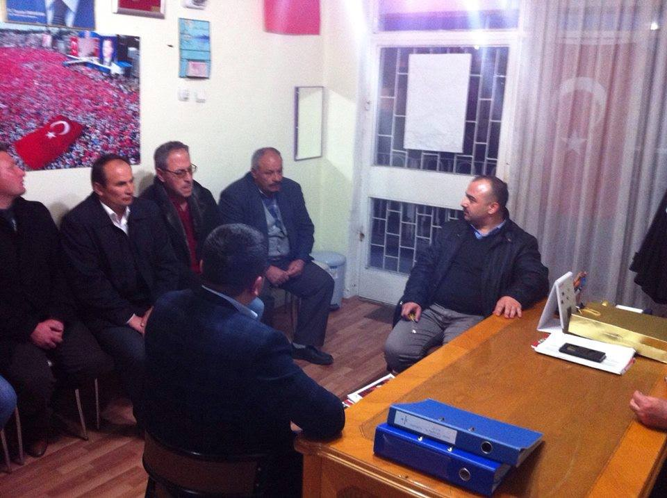AK Parti Çankırı İlçe Başkanlığı Orta ilçesi ziyaret