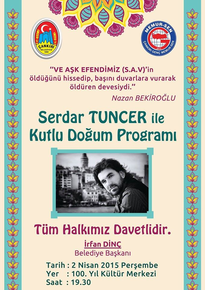 Serdar Tuncer ile Kutlu Doğum Programı