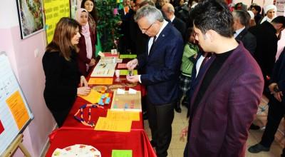 Matematik öğretim materyalleri sergisi açıldı