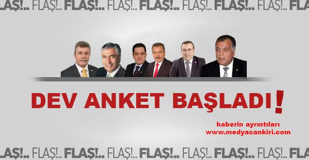 DEV ANKET BAŞLADI!