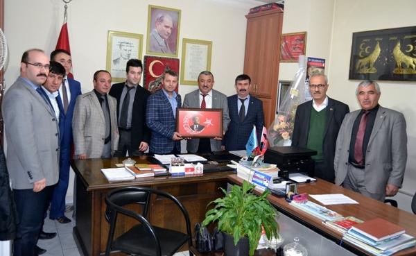 Türk Büro-Sen Çankırı Şubesinden Siyasi Partilere Ziyaret