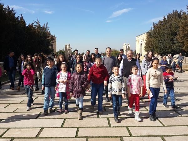 TÜRKAV İstiklal Marşımızı Güzel Okuma Yarışmasına Katılan Öğrenciler İçin Ankara'ya Gezi Düzenledi