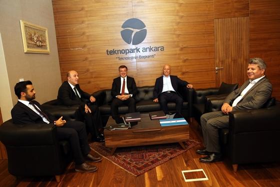 ÇAKÜ ile Ankara İvedik Organize Sanayi  Bölgesi arasında İş Birliği Protokolü imzalandı