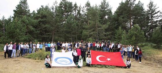 ÇAKÜ'lü öğrenciler, Yapraklı Yaylasında  Doğa Yürüyüşü düzenledi