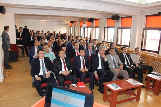Çankırı İl İdare Şube Başkanları ve  Ekonomi toplantısı gerçekleştirildi