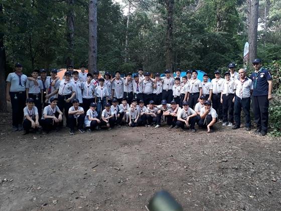 Çankırı SERGENÇ İzcileri  mahalli kampını tamamladı