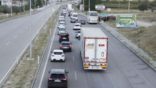Çankırı'da araç sayısı 54 bin 662 oldu