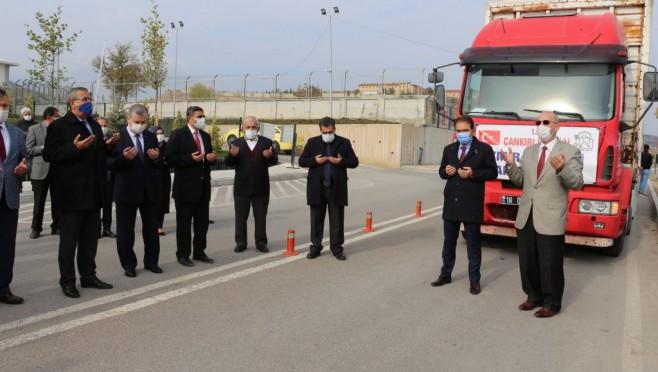 Çankırı'dan İzmir'e yardım eli
