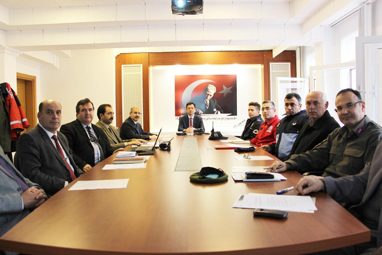İl Tütün Yürütme Kurulu toplantısı gerçekleştirildi