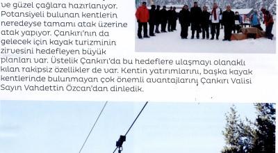 Ilgaz Yıldıztepe Kayak Merkezi kış sporlarının tescilli starı
