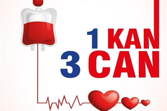 Kızılay'a 130 ünite  kan bağışı yapıldı