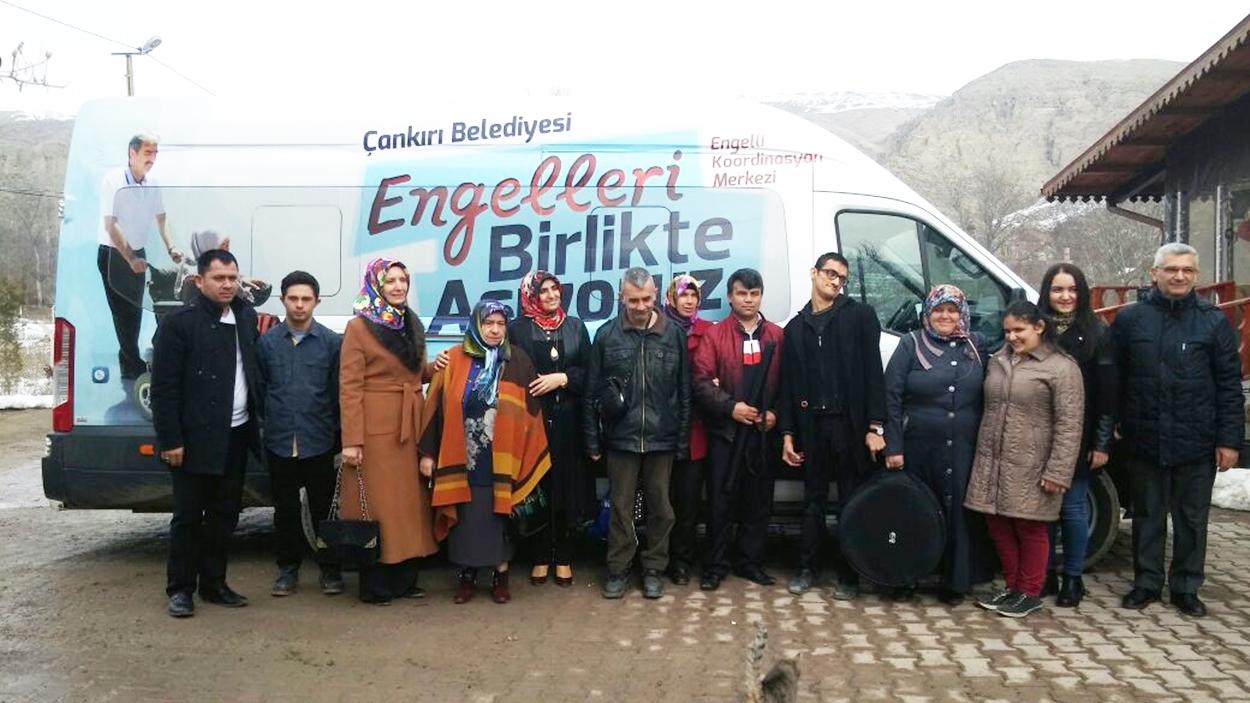 Korumaya Muhtaç Çocuk, Engelli,  Yaşlı ve Kadınları Koruma Derneği Engelli misafirlerini ağırladı