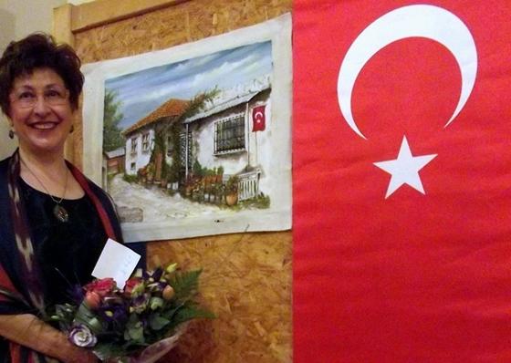 Köşe yazarımız Ressam-yazar Hülya Sezgin Macaristan'da