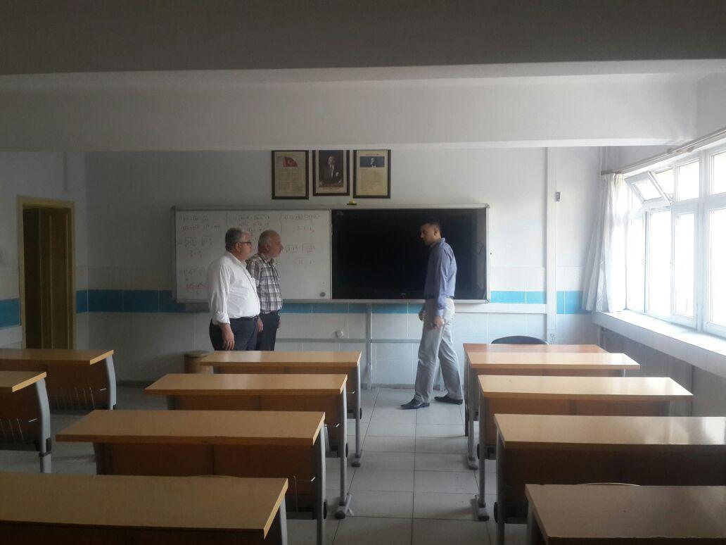 Okulların eğitim-öğretim hazırlıkları yerinde denetlendi