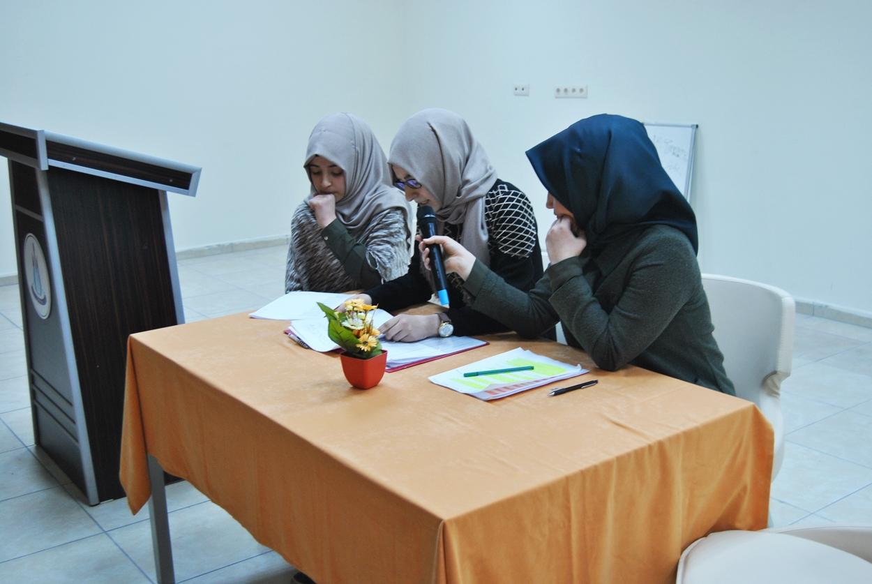 Proje Anadolu İmam Hatip Lisesinde Genç fikirler konuştu