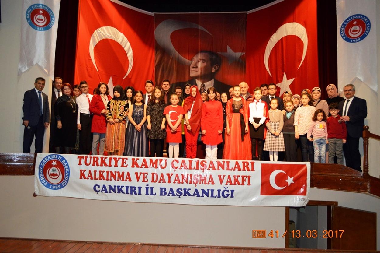 TÜRKAV İstiklal Marşını Güzel Okuma Yarışması düzenledi