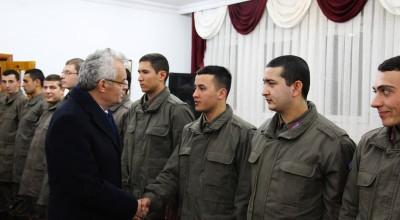 Vali Özcan Jandarma Personelinin yeni yılını kutladı